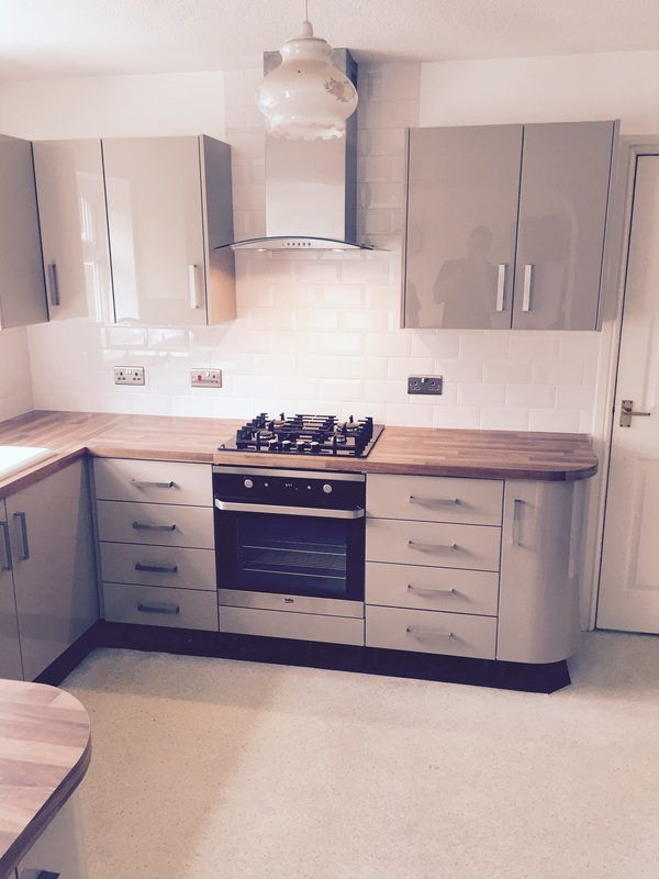 Oven and hob integration kitchen Wilmslow